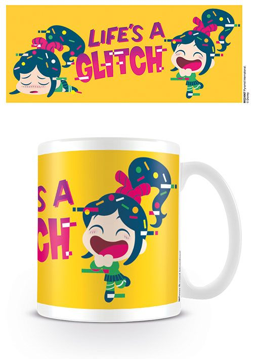 Wreck-It Ralph Mug Life's a Glitch
