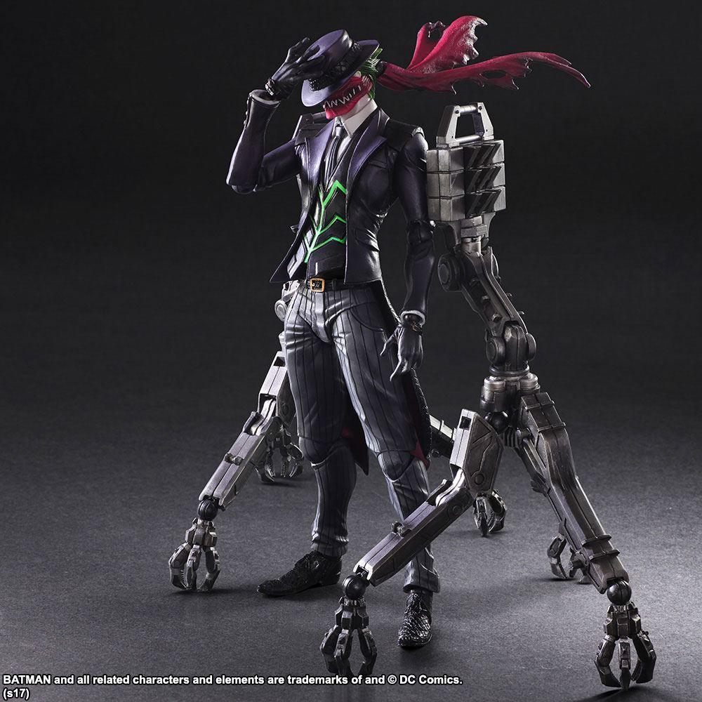 DC Comics Variant Play Arts Kai Action Figure Joker by Tetsuya Nomura 29 cm
