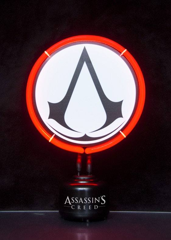 Assassin's Creed Neon Light Logo 27 x 19 cm