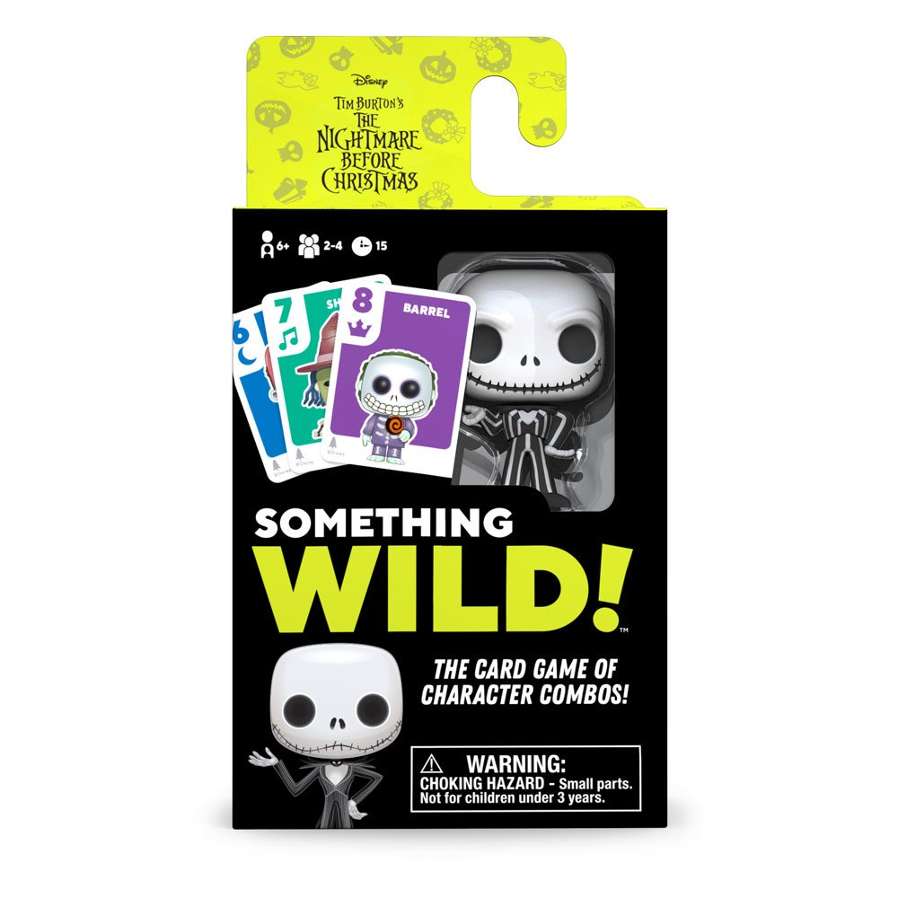 Nightmare before Christmas Card Game Something Wild! Case (4) English Version