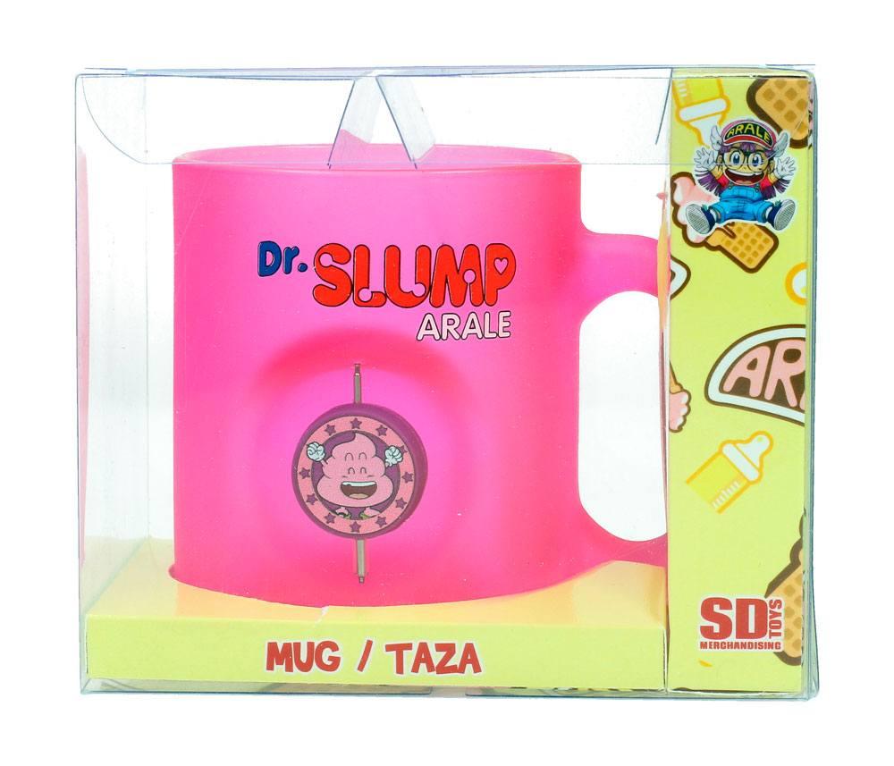 Dr. Slump 3D Rotating Emblem Mug Unchi Poo