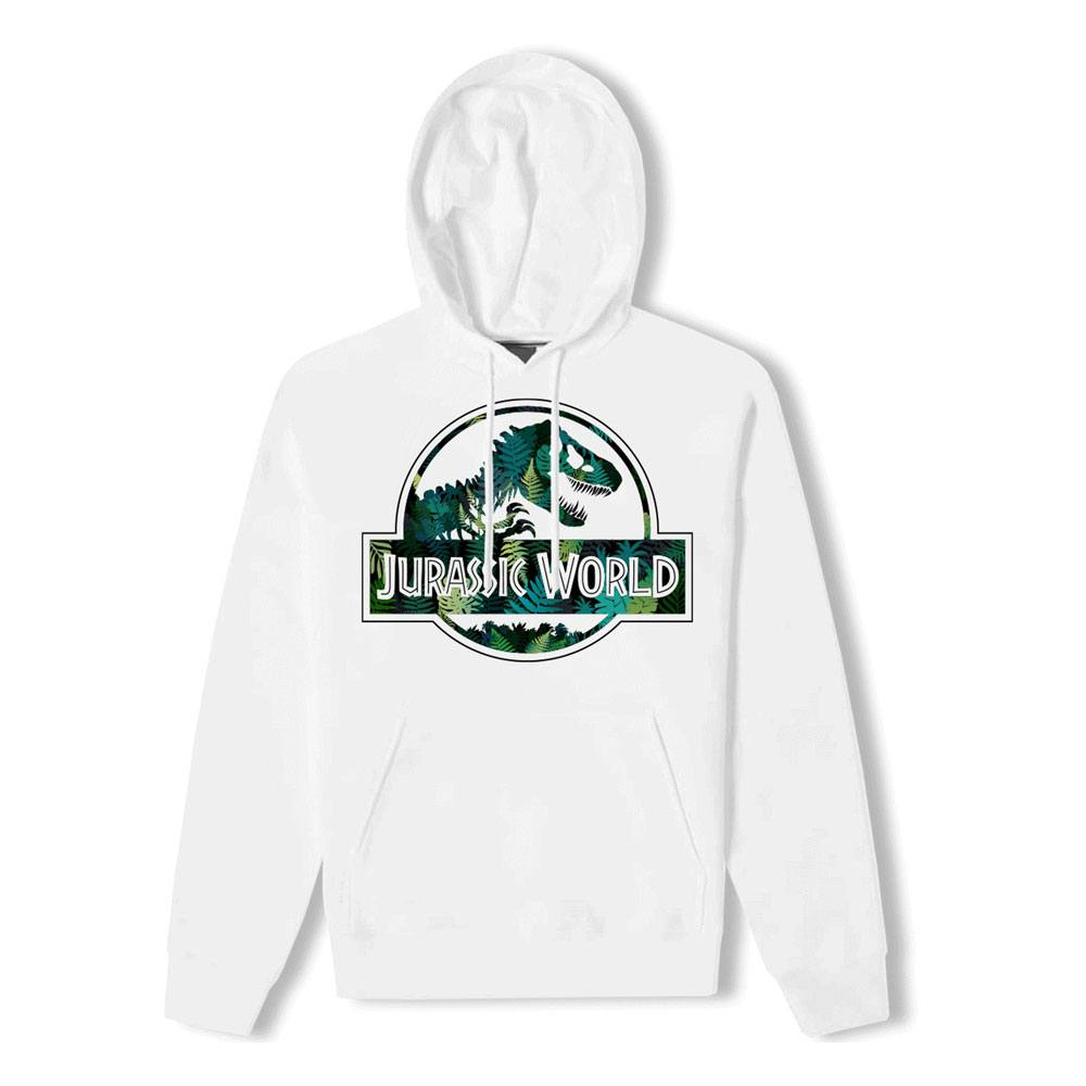 Jurassic World Hooded Sweater Tropical Logo Size L