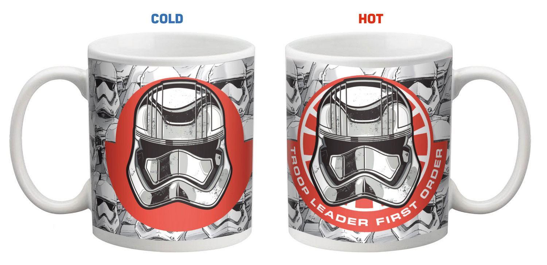Star Wars Heat Change Mug Army & Resistance Logo
