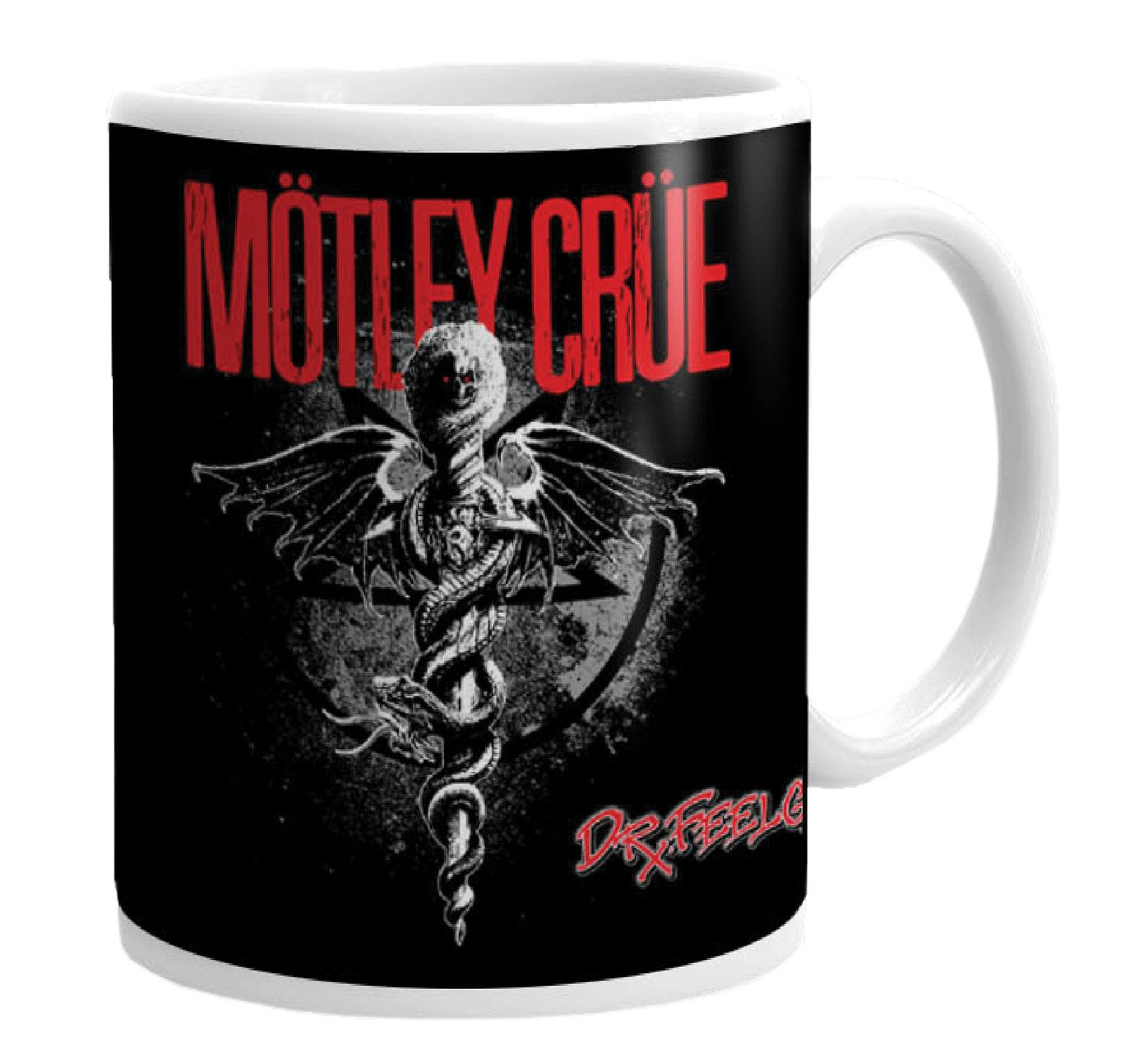 Mötley Crüe Mug Dr. Feelgood