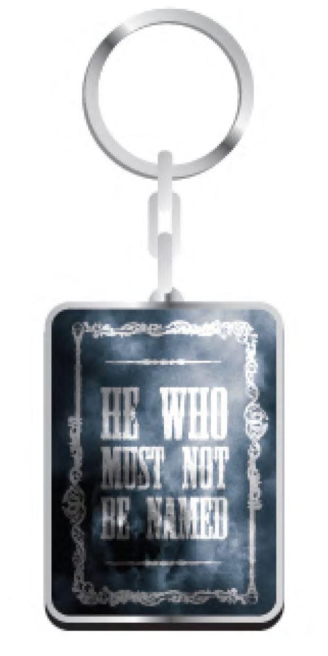 Harry Potter Metal Keychain Voldemort 5 cm