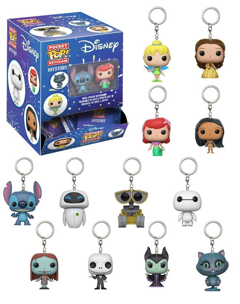 Disney Pocket POP! Vinyl Keychain 5 cm Display S1 (24)