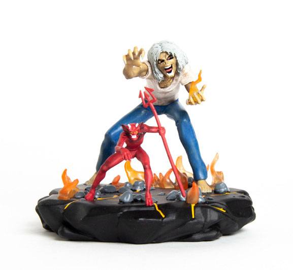 Iron Maiden Legacy of the Beast PVC Statue 1/24 Number of the Beast Eddie 10 cm