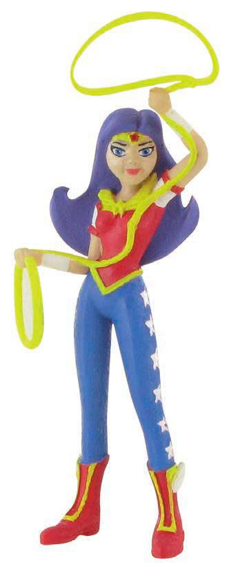 DC Comics Super Hero Girls Mini Figure Wonder Girl 9 cm