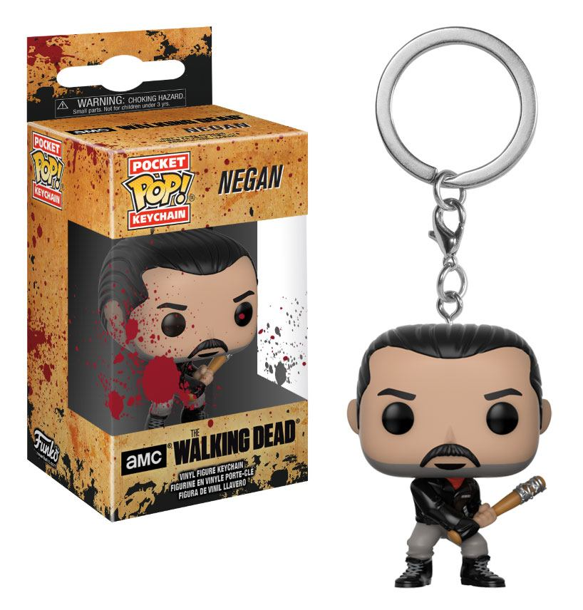The Walking Dead POP! Vinyl Keychain Negan 4 cm