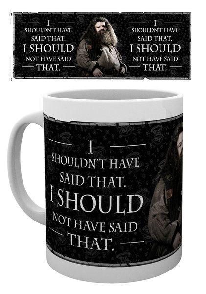 Harry Potter Mug Hagrid Quote