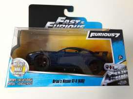 Fast & Furious 7 Diecast Model 1/32 Brian's Nissan GT-R R35