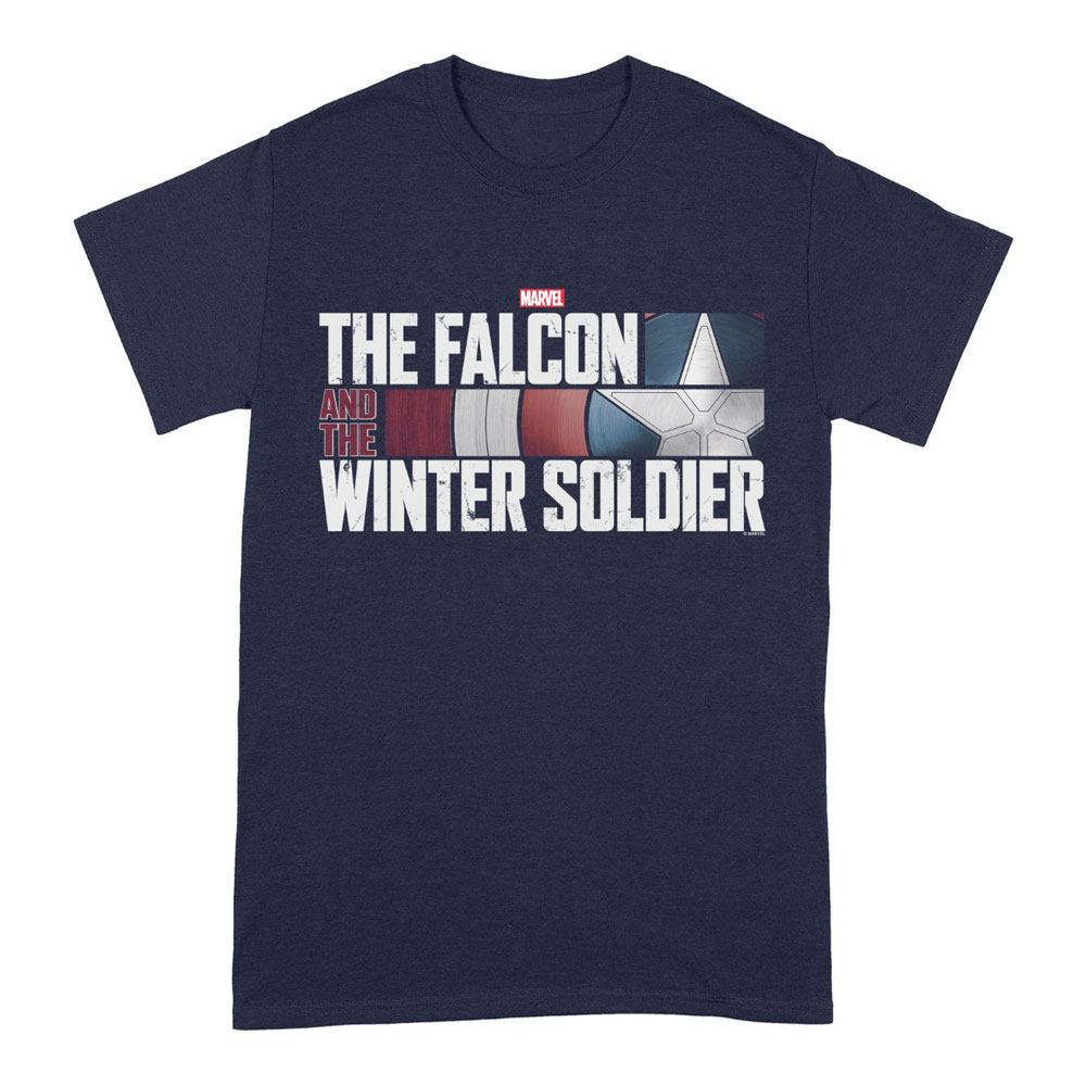 The Falcon and the Winter Soldier T-Shirt Action HR Logo Size L