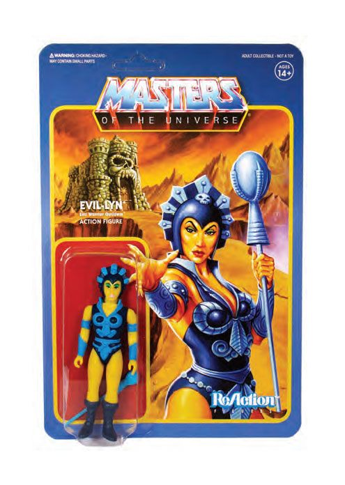 Masters of the Universe ReAction Action Figure Wave 4 Evil-Lyn 10 cm