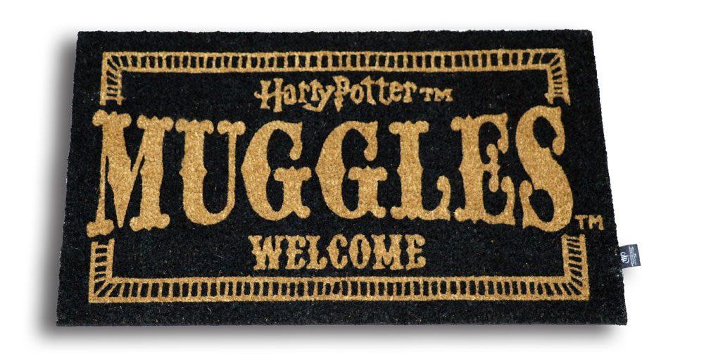 Harry Potter Doormat Muggles Welcome 43 x 72 cm