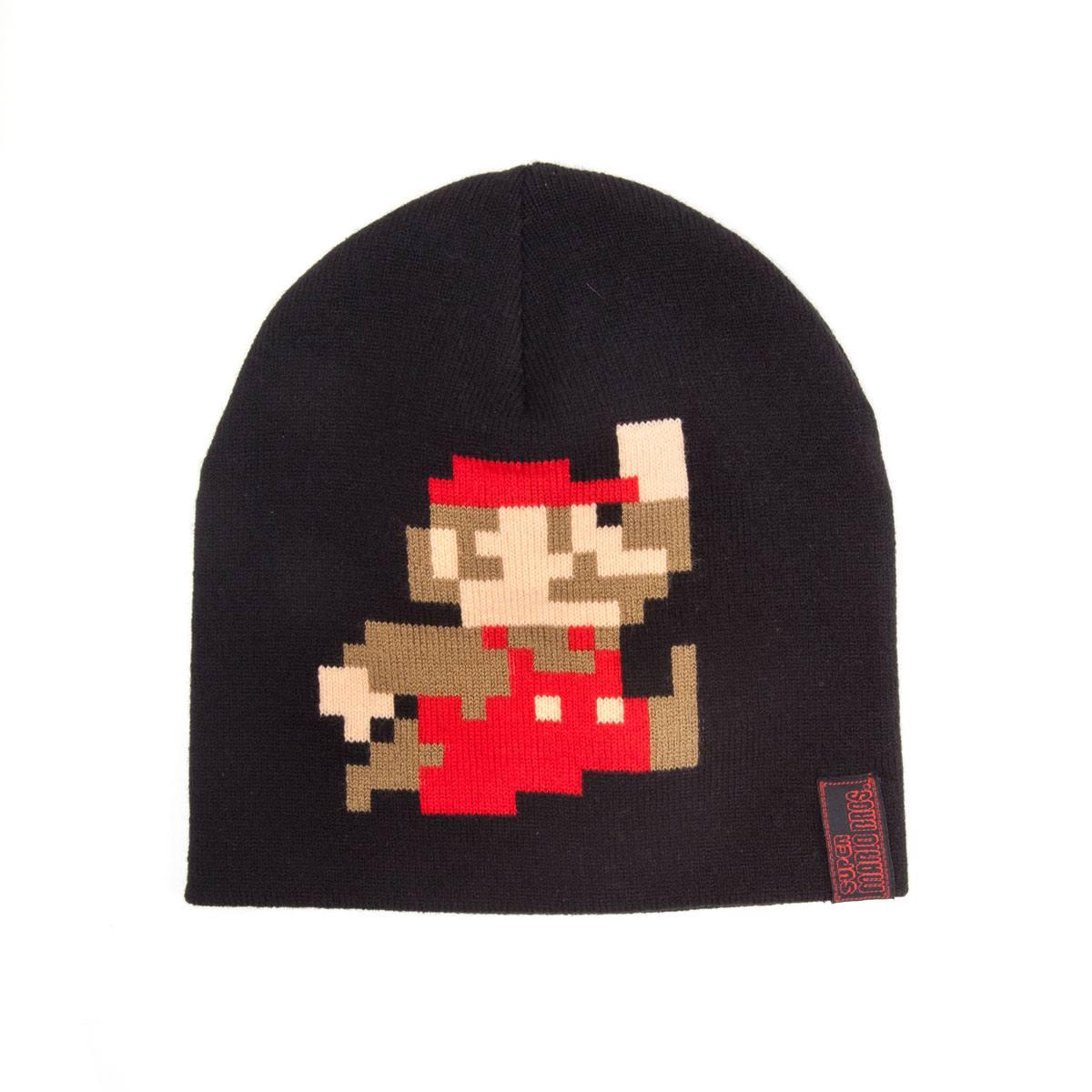 Nintendo Super Mario Beanie (zwart)