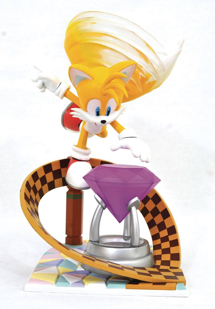 Sonic Gallery PVC Diorama Tails 23 cm