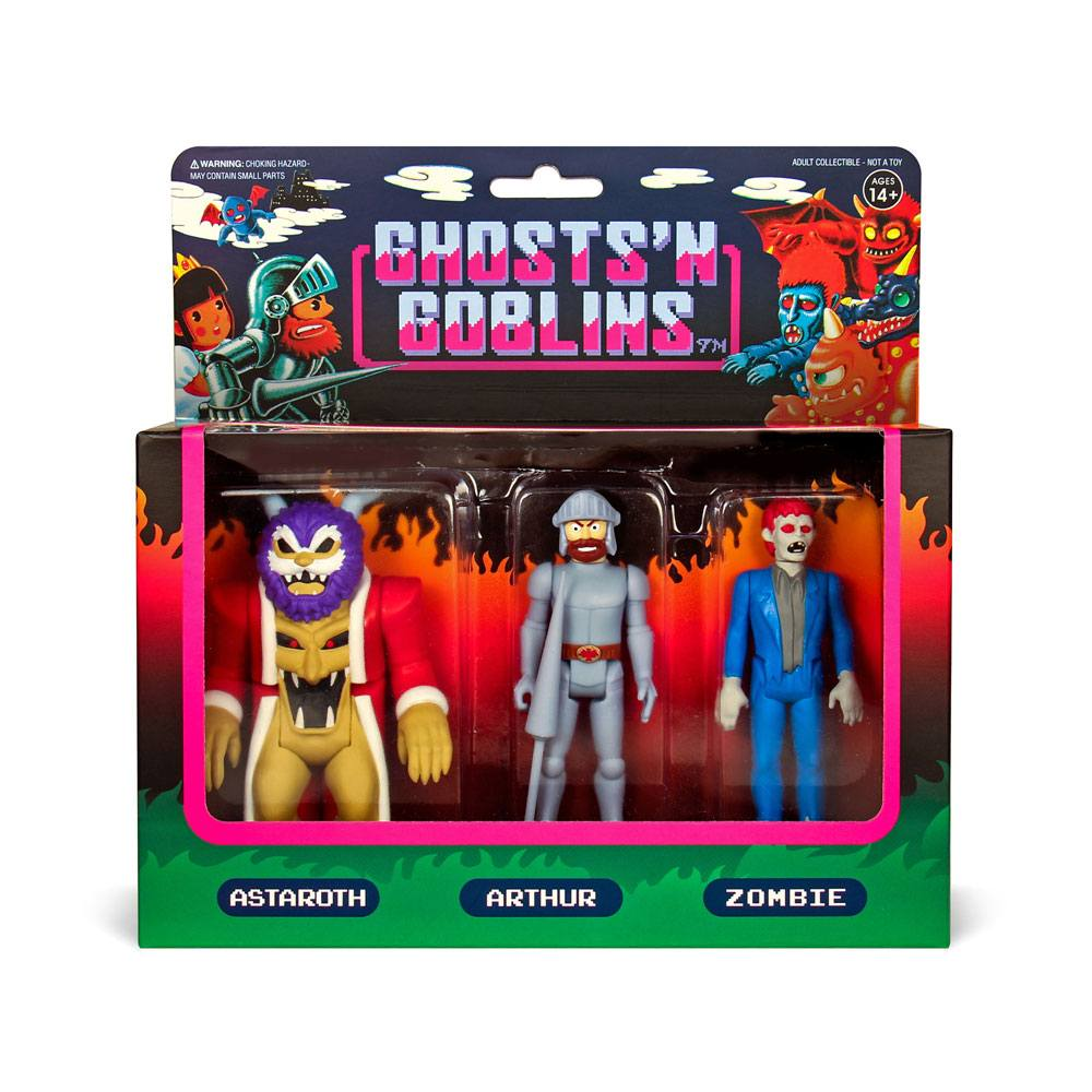 Ghosts 'n Goblins ReAction Action Figure 3-Pack A 10 cm