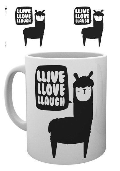 Llama Mug Live Love Laugh