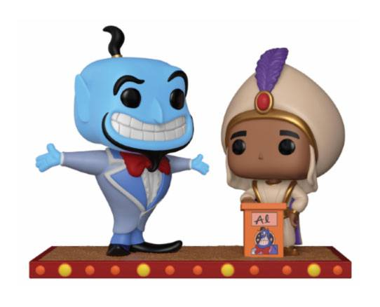 Aladdin POP! Movie Moment Vinyl Figure Aladdin's First Wish 9 cm