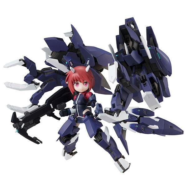 Alice Gear Aegis Desktop Army Action Figure Rin Himukai (Unrestrained) 20 cm