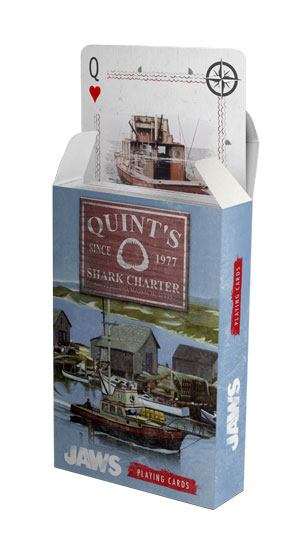 Jaws Playing Cards Quint's Shark Charters