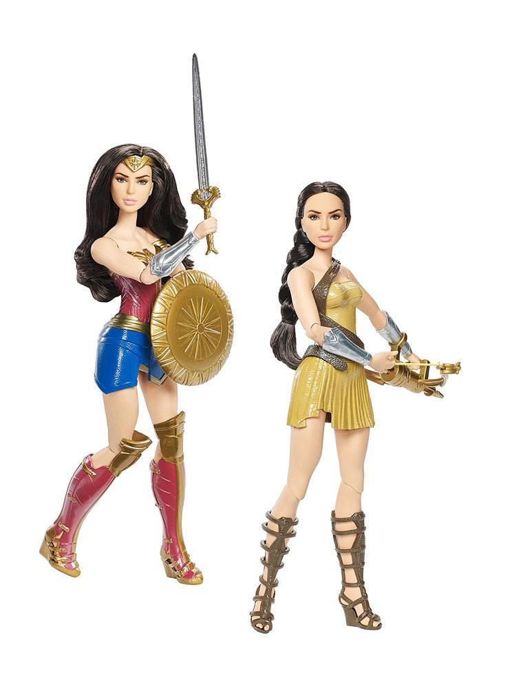 Wonder Woman Movie Deluxe Dolls 30 cm Assortment (3)