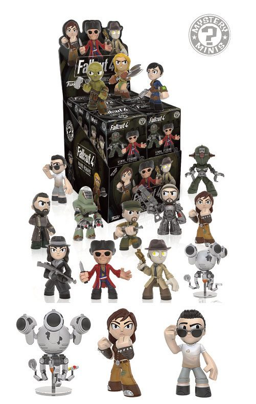 Fallout 4 Mystery Mini Figures 6 cm Display Variant Mix #3 (12)