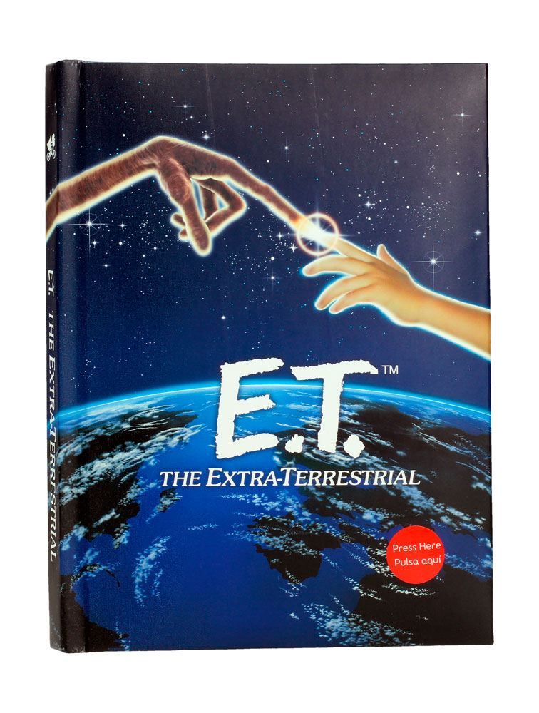 E.T. the Extra-Terrestrial Notebook with Light Poster