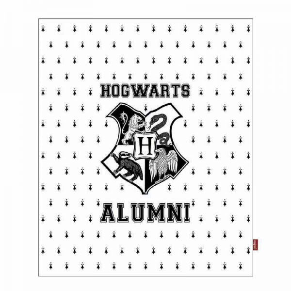 Harry Potter Throw Hogwarts Alumni 125 x 150 cm