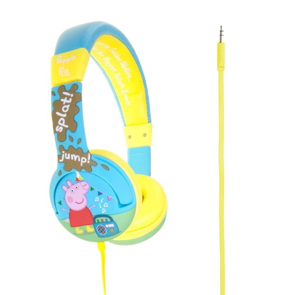 Peppa Pig Junior Headphones Muddy Puddles