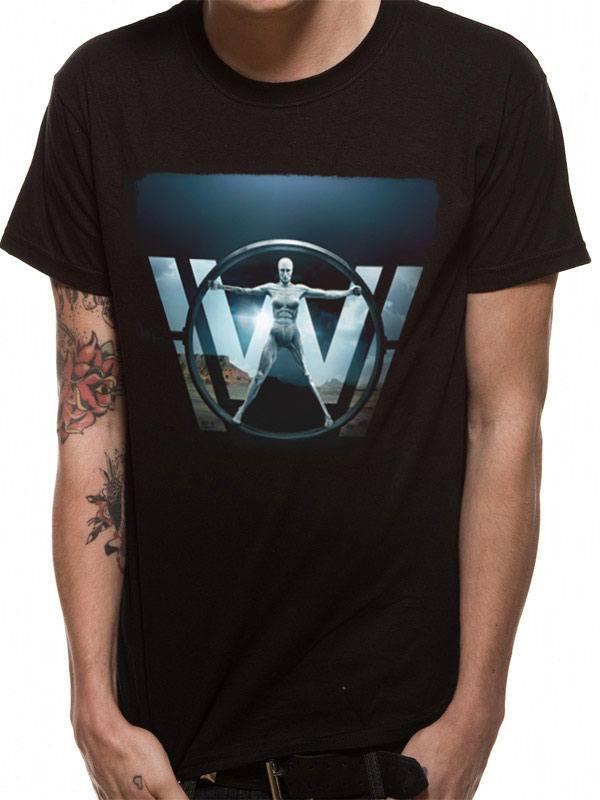 Westworld T-Shirt Vitruvian Woman Size M