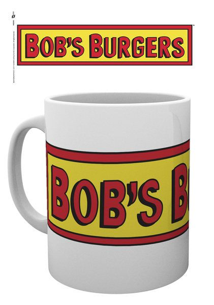 Bob's Burgers Mug Logo