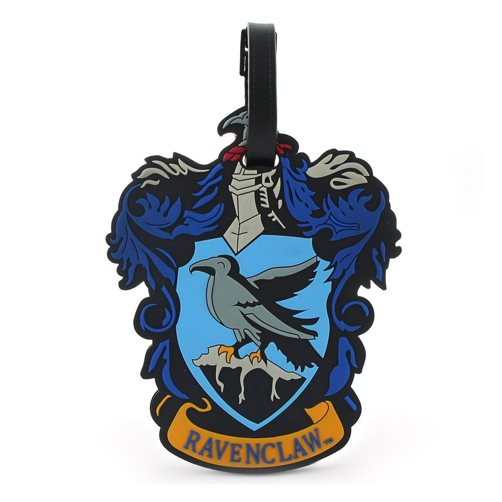 Harry Potter Rubber Luggage Tag Ravenclaw New Ver.