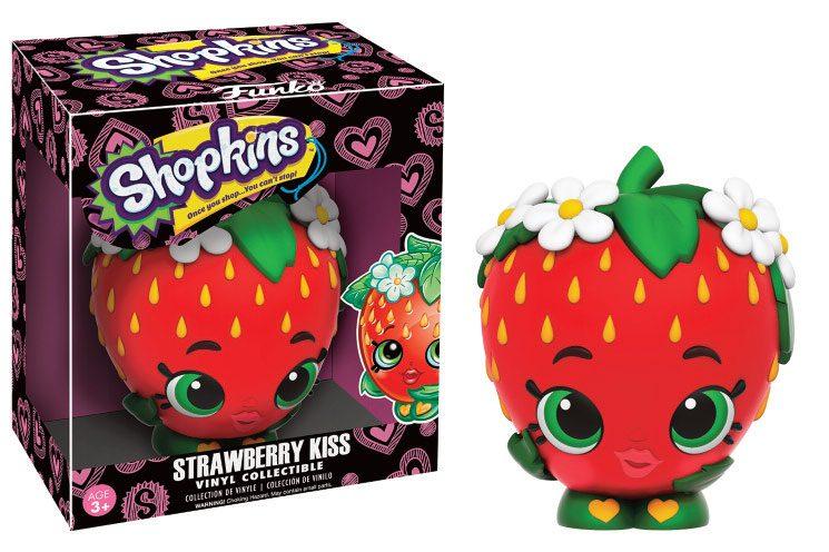 Shopkins Vinyl Collectible Figure Strawberry Kiss 9 cm