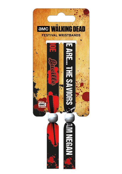 Walking Dead Festival Wristband 2-Pack The Saviors