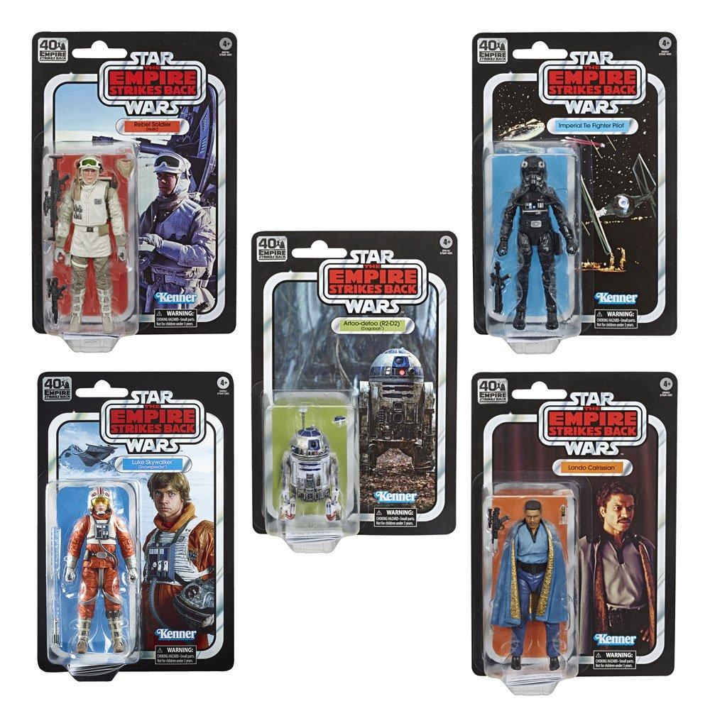 Star Wars Episode V Black Series Action Figures 15 cm 40th Anniversary 2020 Wave 2 Assortment (5)
