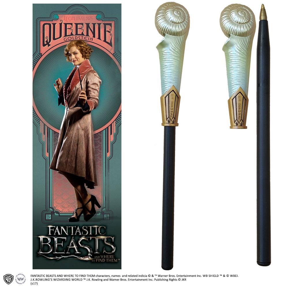 Fantastic Beasts Pen & Bookmark Queenie Goldstein