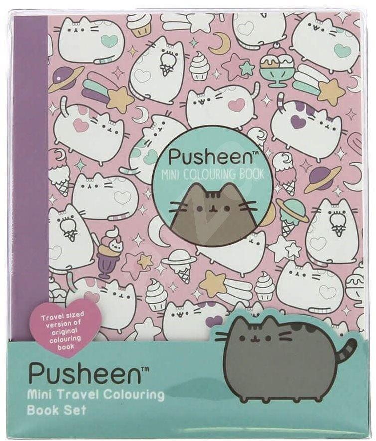 Pusheen Colouring Book Set
