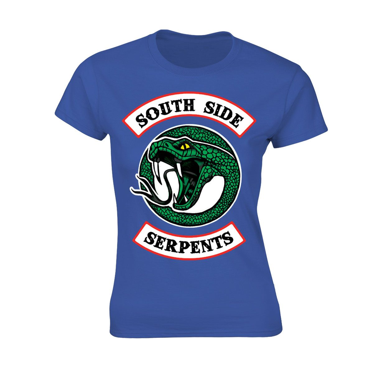 Riverdale Ladies T-Shirt Southside Serpents Size S