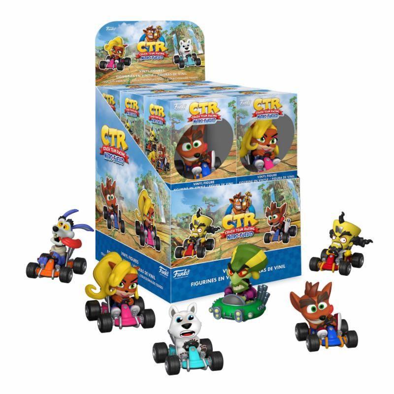 Crash Bandicoot Mini Vinyl Figures 6 cm Display (12)