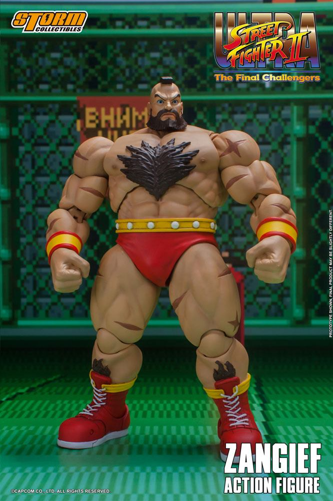Ultra Street Fighter II: The Final Challengers Action Figure 1/12 Zangief 19 cm