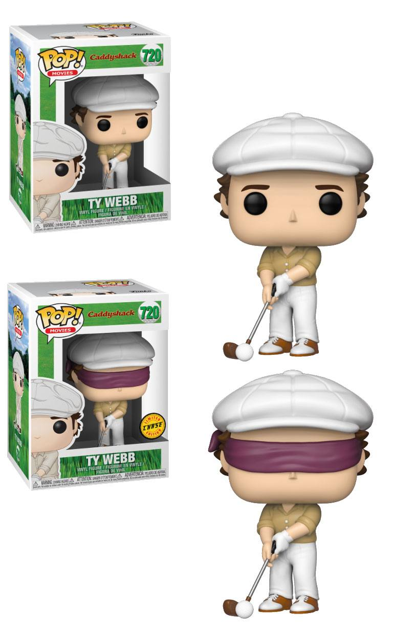 Caddyshack POP! Movies Vinyl Figures Ty 9 cm Assortment (6)