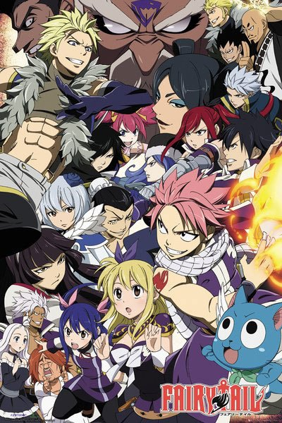 Fairy Tail Poster Pack Season 6 Key Art 61 x 91 cm (5)