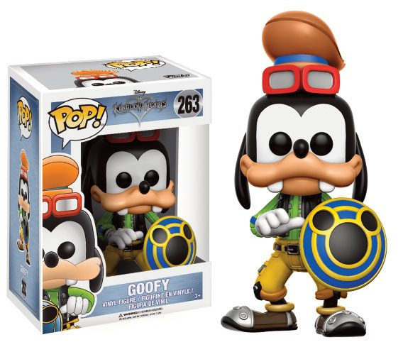Kingdom Hearts POP! Disney Vinyl Figure Goofy 9 cm