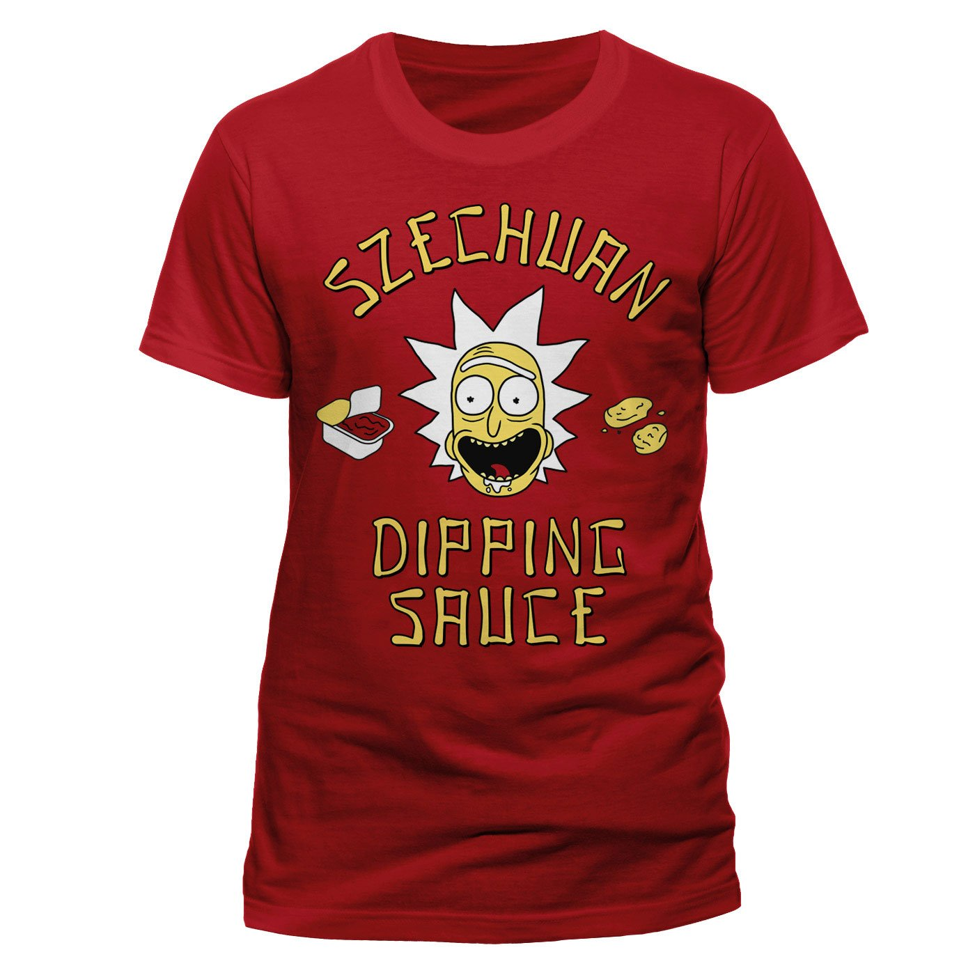 Rick and Morty T-Shirt Szechuan Dipping Sauce Size S