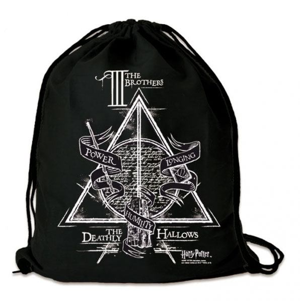 Harry Potter Gym Bag Three Brothers