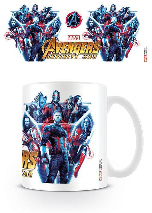 Avengers Infinity War Mug Heroes United