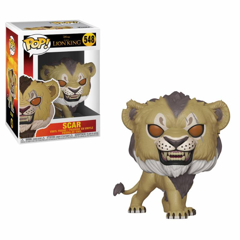 The Lion King (2019) POP! Disney Vinyl Figure Scar 9 cm