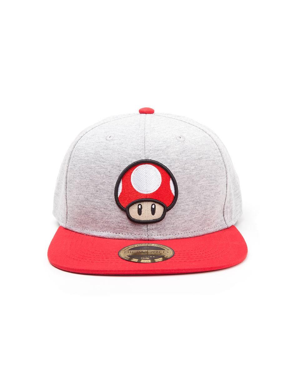 Nintendo Snapback Cap Mushroom Logo