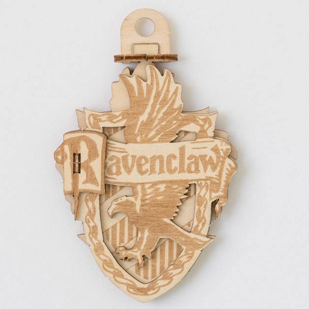 Harry Potter IncrediBuilds Emblematics 3D Wood Model Kit Ravenclaw